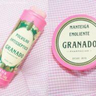 Polvilho Antisséptico e Manteiga Emoliente da Granado