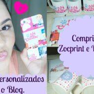 Comprinhas Zocprint e Donaca | Produtos Personalizados Para o Blog