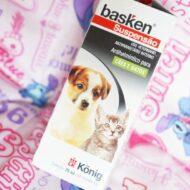 Basken Suspensão Antiparasitário/Vermífugo Para Cães e Gatos
