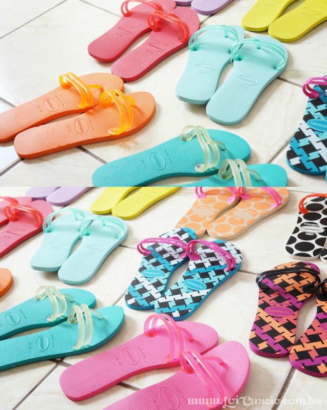 Blog Loi Curcio | www.loicurcio.com.br | Chinelos Femininos | Havaianas Flat Gum Fashion - Coleção 2014-1