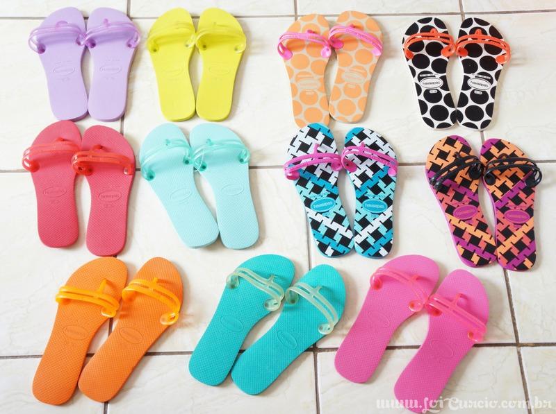 Blog Loi Curcio | www.loicurcio.com.br | Chinelos Femininos | Havaianas Flat Gum Fashion - Coleção 2014-3