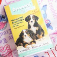 Drontal Puppy Suspensão – Vermicida Giardicida Para Cães Filhotes