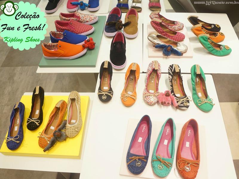 Colecao Kipling Shoes Fun & Fresh | III Selecao Correspondente Kipling - Loi Curcio-1