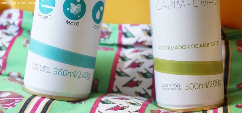 Neutralizador de Odores e Cheirinho Capim-Limão Organnact Pet - Loi Curcio-4