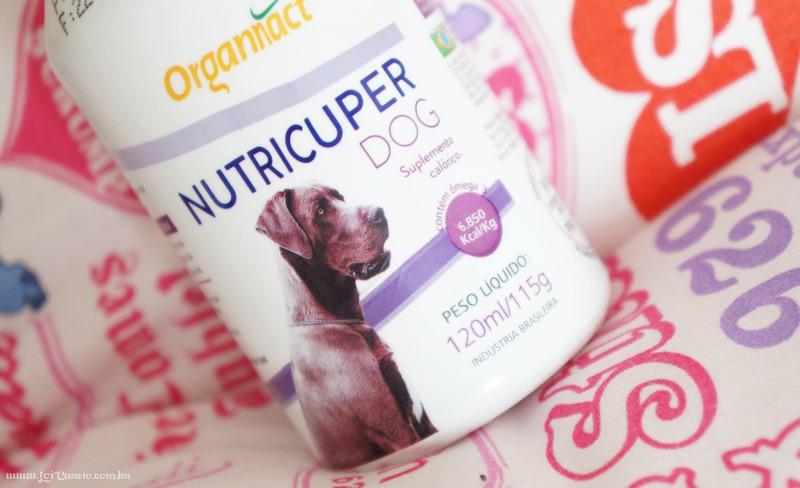 Nutricuper Dog da Organnact | Suplemento Hipercalórico Para Cães - Loi Curcio-1