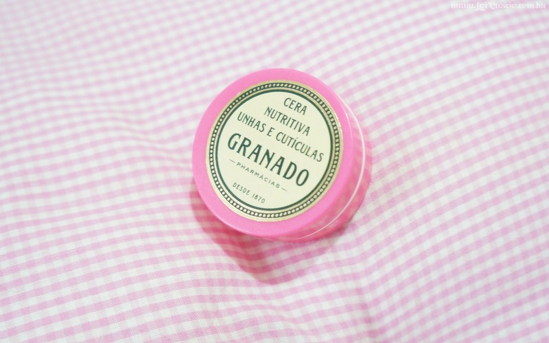 Resenha Cera Nutritiva Unhas e Cuticulas Granado Pink - Loi Curcio-1