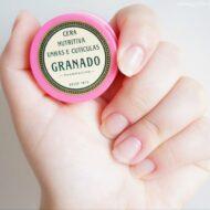 Resenha: Cera Nutritiva Unhas e Cutículas Granado Pink