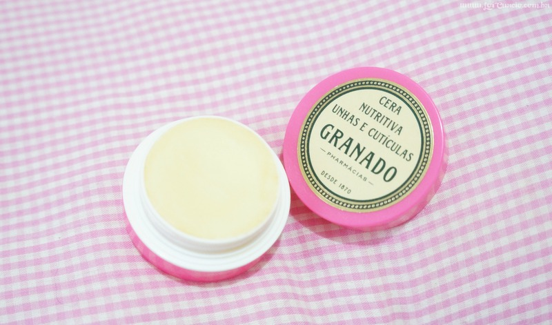 Resenha Cera Nutritiva Unhas e Cuticulas Granado Pink - Loi Curcio-2