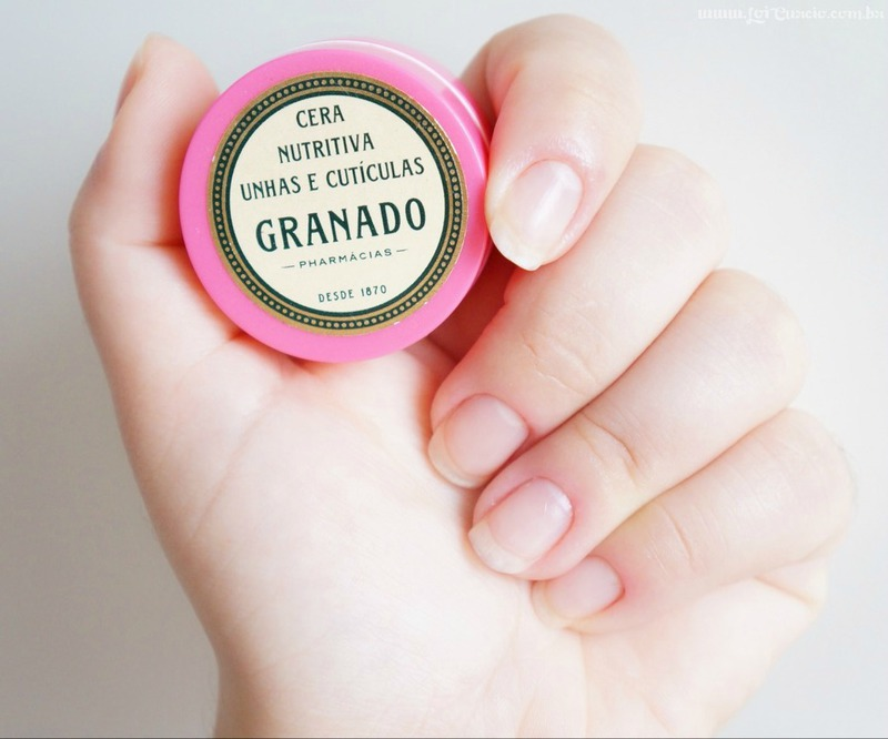 Resenha Cera Nutritiva Unhas e Cuticulas Granado Pink - Loi Curcio