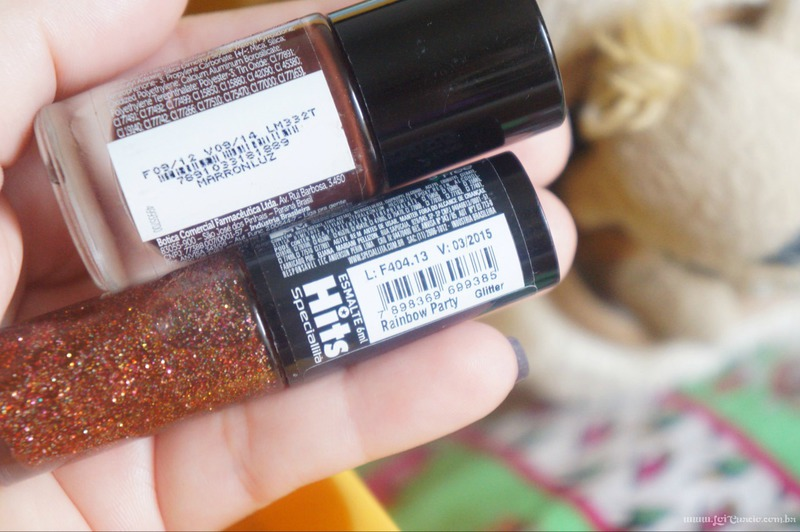 Unhas Esmalte Rainbow Party Glitter e Marronluz - Loi Curcio-1