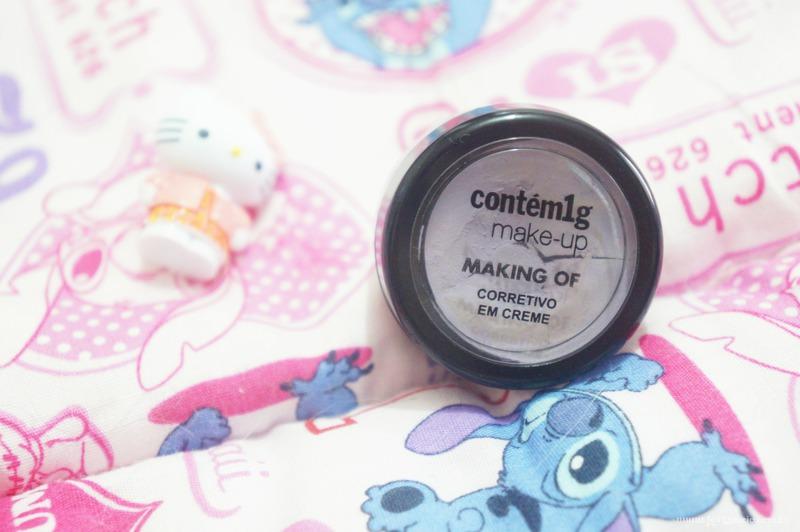 Making Of Corretivo em Creme Lilas Contem 1g - Loi Curcio