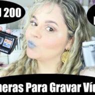 As Primeiras Câmeras e Filmadora Que Usei no Início no Canal e Blog | #LóiPor31Dias 8
