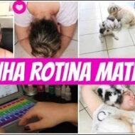 Minha Rotina Matinal (Bom Dia!) | My Morning Routine | #LóiPor31Dias 20