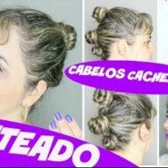 Penteado Fácil e Prático Para Cabelos Cacheados | #LóiPor31Dias 11