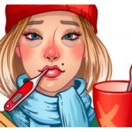 Blá Blá Blá + Dicas e Maquiagem Para Disfarçar a Gripe e Resfriado