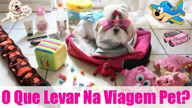 Mala de Viagem Pet (Kit Necessario - Itens Essenciais Para os Cachorros:Animais e Muitas Dicas) - Loi Curcio