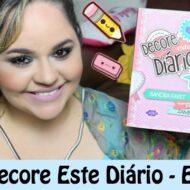 Livro Decore Este Diário – Episódio 1 | Book Decorate This Diary