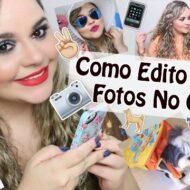 """Como Edito Minhas Fotos no Celular (Instagram) + Apps Favoritos de Fotografia e Dicas Para Selfie """"Perfeita"""""""