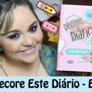 Livro Decore Este Diário – Episódio 2 | Book Decorate This Diary