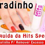 Resenha Fita Líquida Borradinho da Hits Speciallitá + Dica Caseira Baratinha Para Remover Excesso de Esmalte Nas Unhas