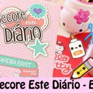Livro Decore Este Diário – Episódio 3 | Book Decorate This Diary