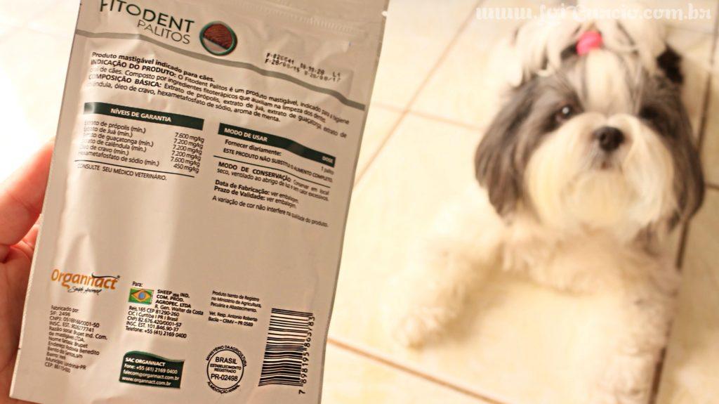 Petisco Para Controle dos Tartaros, Mau Hálito e Higiene Bucal Dos Cães | Ossos Palitos Fitodent da Organnact - Loi Curcio -3