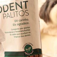 Petisco Para Controle dos Tártaros, Mau Hálito e Higiene Bucal Dos Cães   Ossos Palitos Fitodent da Organnact