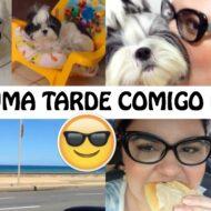 Vlog: Uma Tarde Comigo Na Rua