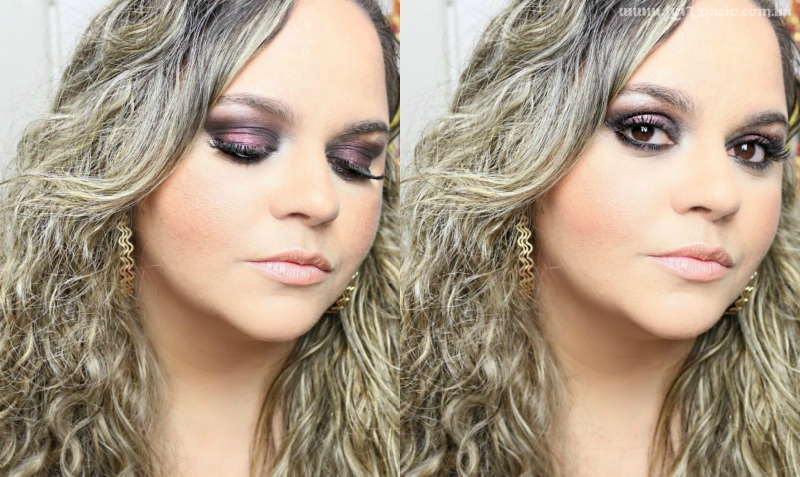 Maquiagem Outono:Inverno Para Sair Com Produtos Nacionais:Brasileiros e Baratos:Baratinhos - Loi Curcio -2