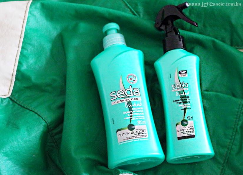 Resenha | Seda Cachos Comportados e Definidos - Spray Para Pentear e Creme Para Pentear (Meu Favorito) - Loi Curcio -2