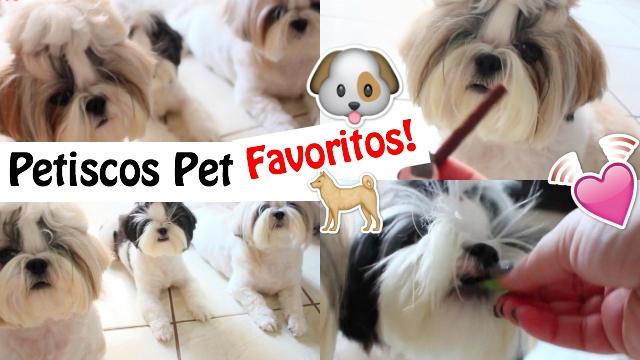 Momento Petisco Pet | Os Petiscos Favoritos das Minhas Filhas Pet Shih Tzu + Como Eu Dou - Loi Curcio