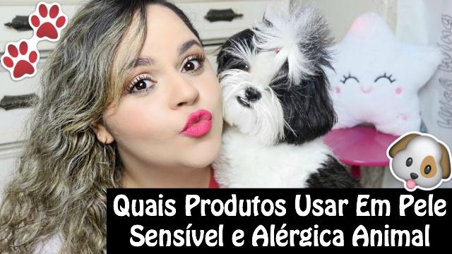 Quais Produtos Para Pele Sensivel e Alergica de Cachorros, Gatos e Animais + Minha Experiencia Com Minhas Shih Tzu e Poodle - Loi Curcio