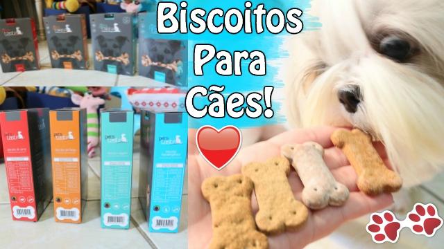Biscoitos Para Caes Cachorros Hipoalergenico e Vegano | The Pets Taste | Veda5.2 -Loi Curcio