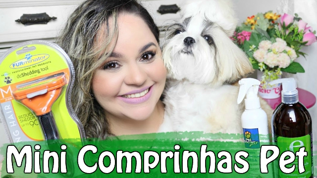 Mini Comprinhas e Recebido Pet Para Minhas Shih Tzu | #Veda4 - Loi Curcio