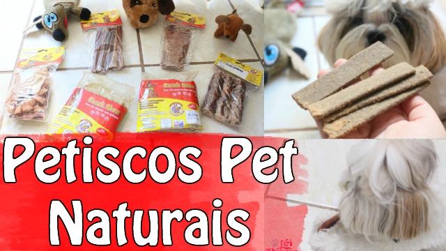 Petiscos Naturais Bovinos Para Cães - Cachorros - Dogs - Snack Show | VEDA1 - Loi Curcio