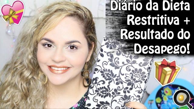 Diario da Dieta Restritiva + Resultado do Desapego | VedaExtra - Loi Curcio
