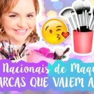 Melhores Pincéis Nacionais Bons e Baratos de Maquiagem | 12 Marcas Que Valem A Pena
