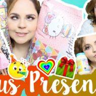 Meus Presentes de Aniversário, Dia das Crianças e Natal ATRASADO #VEDA11