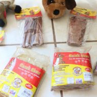 Resenha: Ossos, Bifinhos, Tiras e Petiscos Naturais Bovinos Snack Show Para Cães