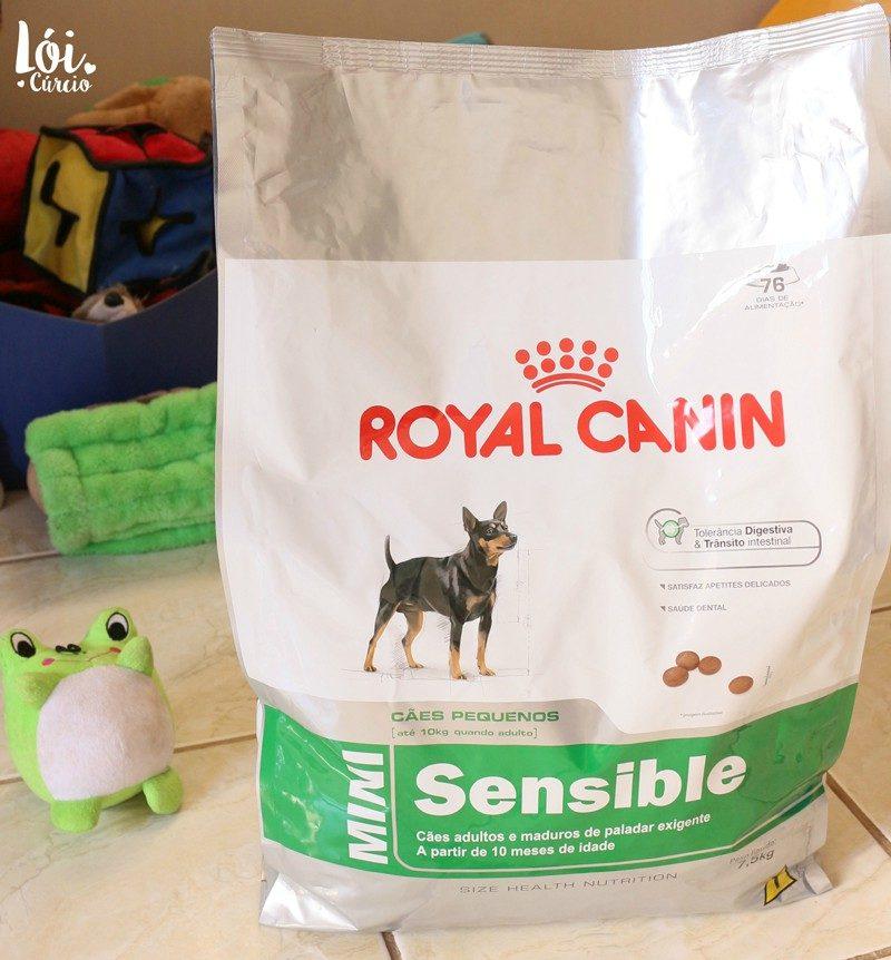 Top Ração Mini Sensible Royal Canin Para Cães Adultos/Maduros de Raças QS87